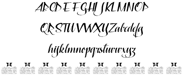 Download Capable of Loving font (typeface)