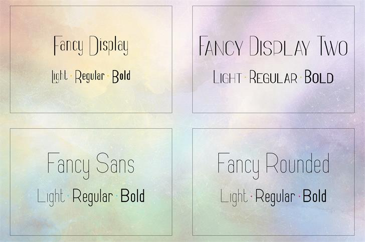 Download Fancy Light font (typeface)