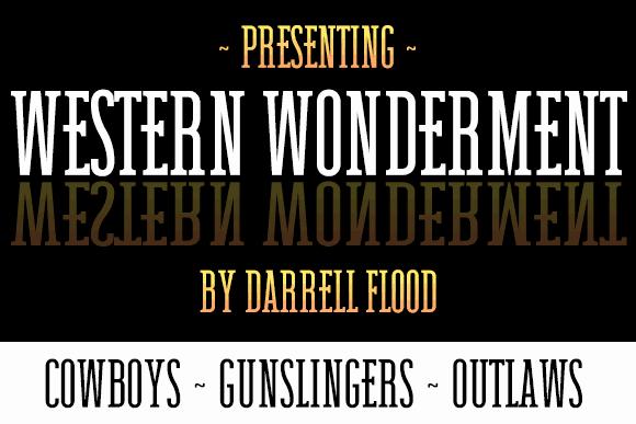 Download Western Wonderment font (typeface)