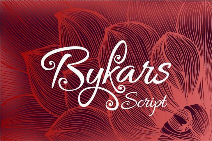 Download Bykars font (typeface)