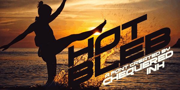 Download Hot Bleb font (typeface)