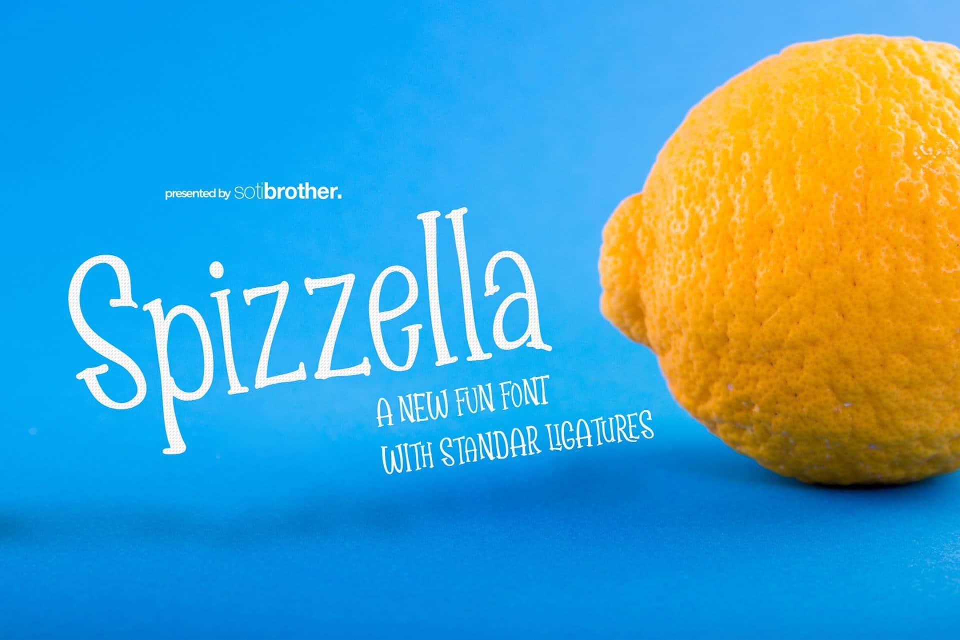 Spizella шрифт скачать бесплатно
