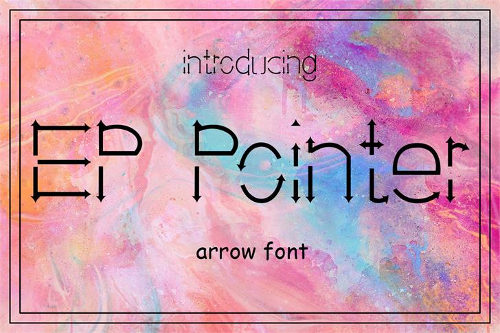 Download EP Pointer font (typeface)