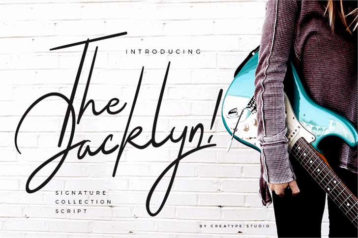 Download The Jacklyn font (typeface)