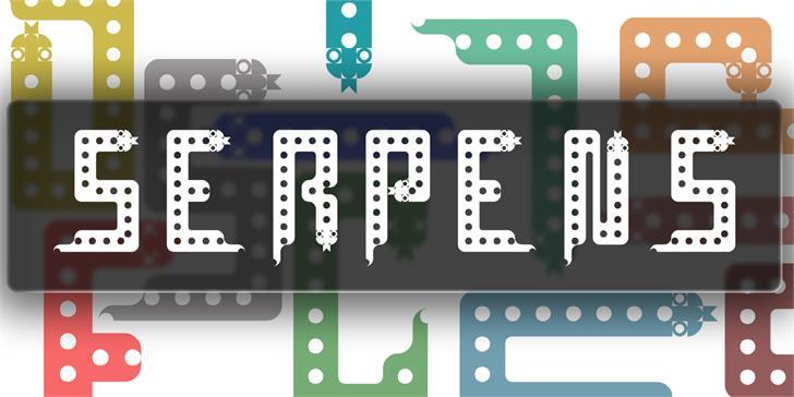 Download Serpens font (typeface)