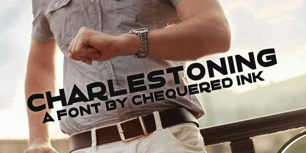 Download Charlestoning font (typeface)