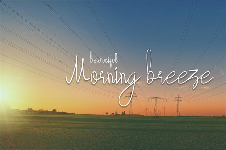 Download Beautyforest font (typeface)