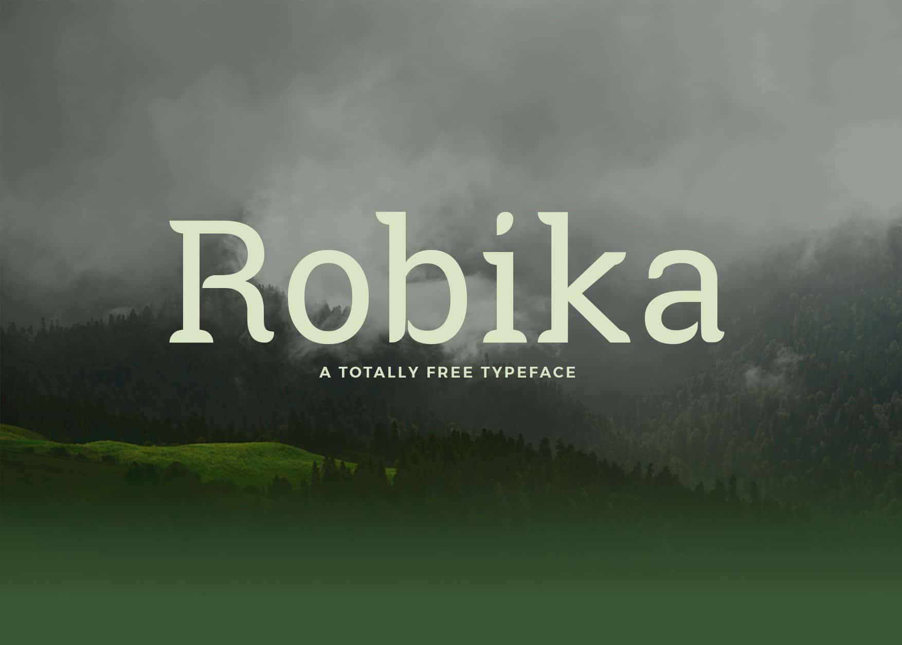 Download Robika  font (typeface)