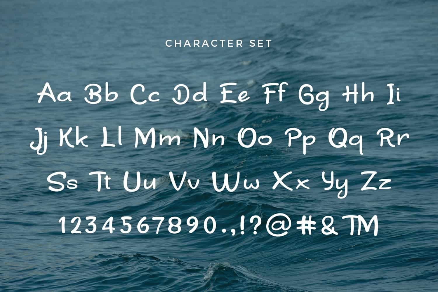 Download Sea Waves font (typeface)