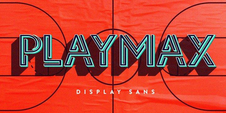 Playmax Font шрифт скачать бесплатно