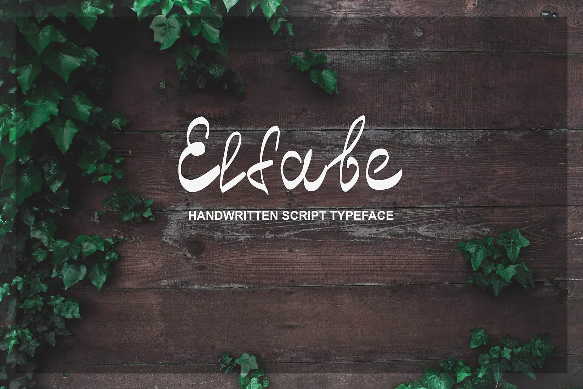 Download Elfabe font (typeface)