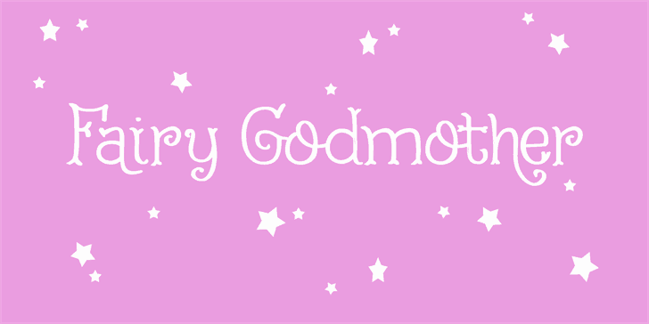 Download Fairy Godmother font (typeface)