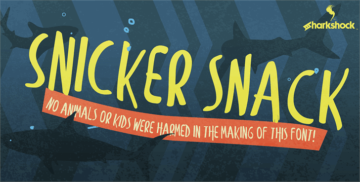 Download Snicker Snack font (typeface)
