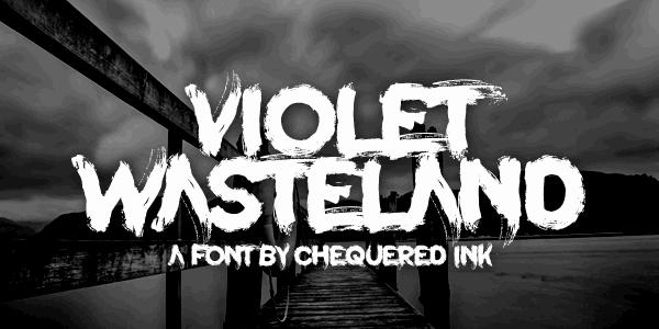 Download Violet Wasteland font (typeface)