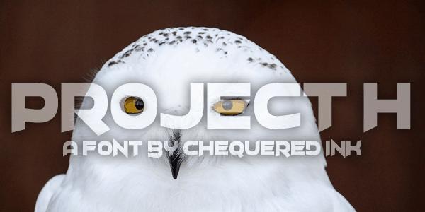 Project H шрифт скачать бесплатно