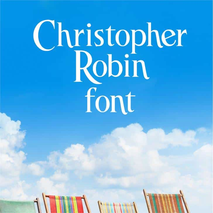 Download Christopher Robin font (typeface)