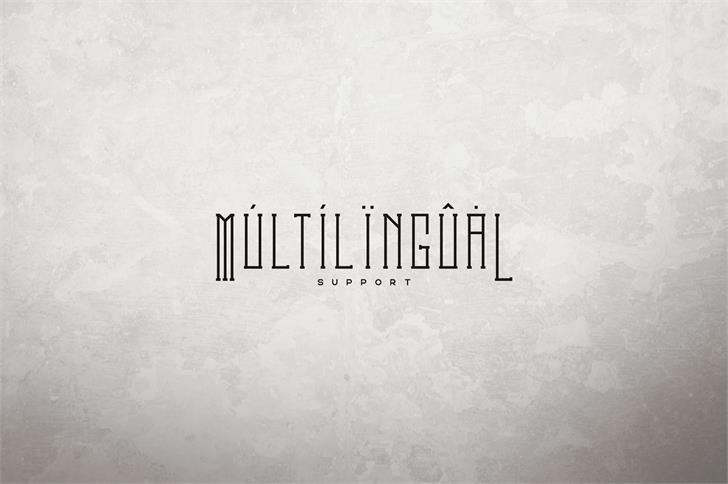 Download Melancholy Outline font (typeface)