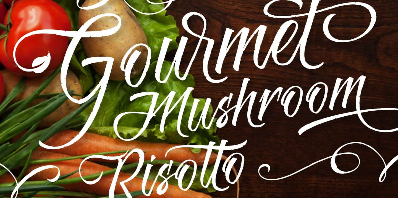 Download Risotto Script font (typeface)