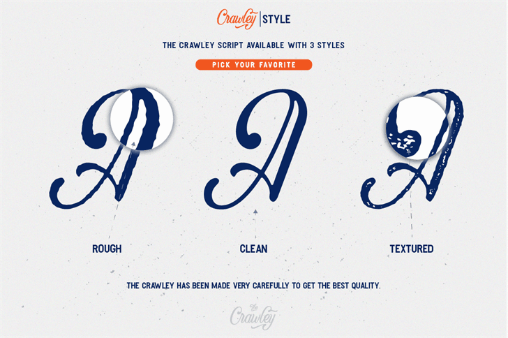 Download Crawley font (typeface)