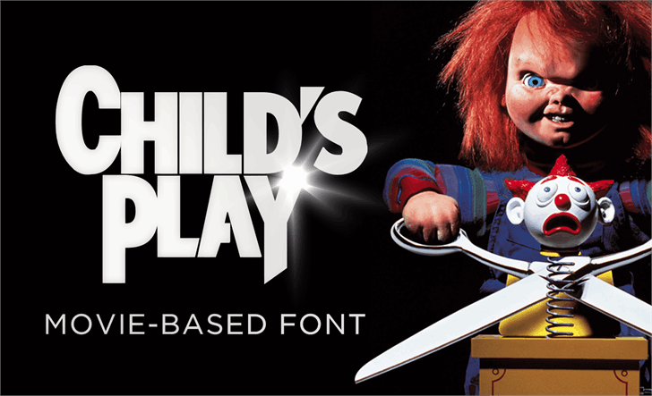 Download Child's Play font (typeface)