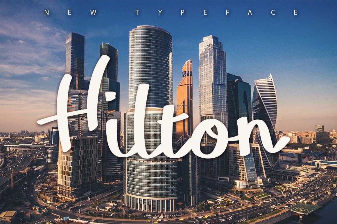 Download Hilton font (typeface)