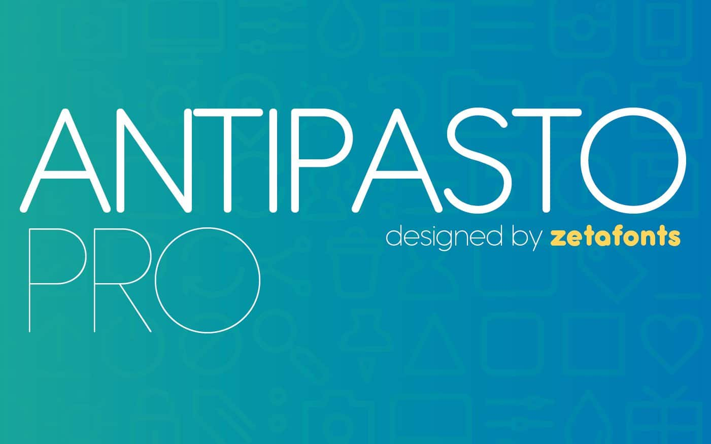 Download Antipasto Pro  font (typeface)