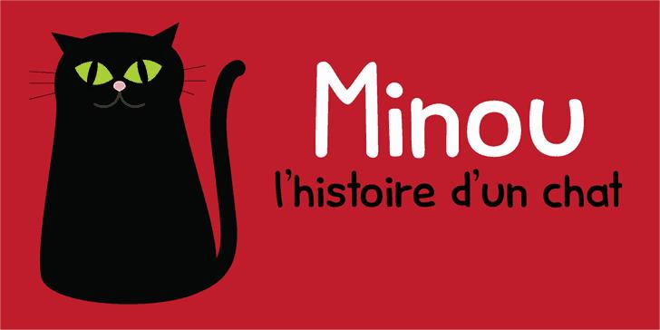 Download Minou font (typeface)