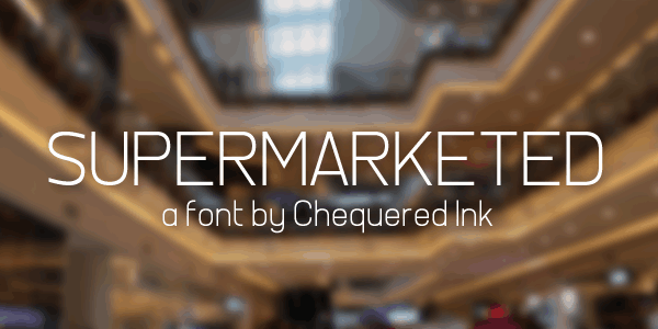 Download Supermarketed font (typeface)