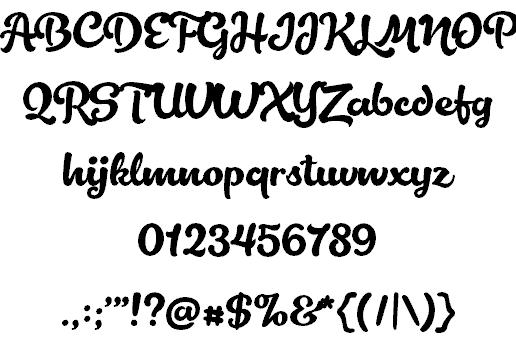 Lactosa шрифт скачать бесплатно