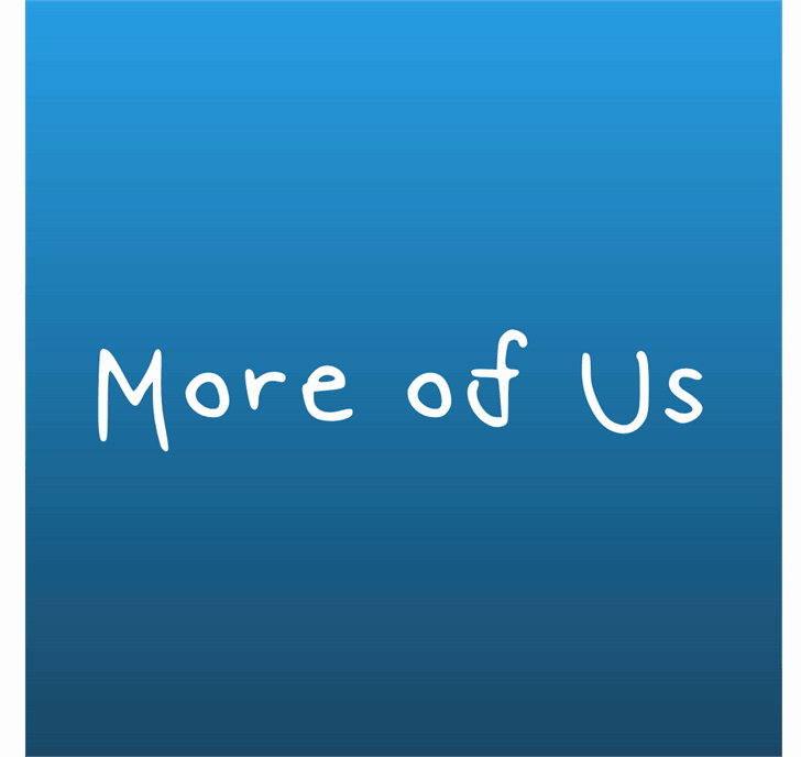 Download More Of Us font (typeface)