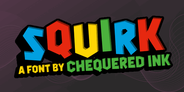 Download Squirk font (typeface)