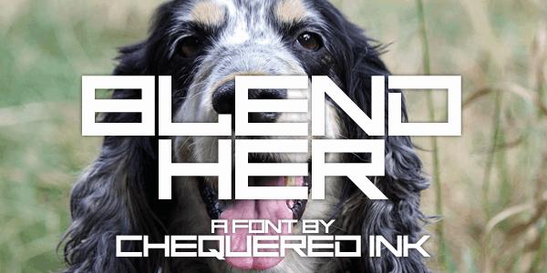 Download Blend Her font (typeface)