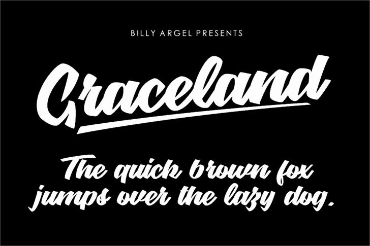 Download Graceland font (typeface)
