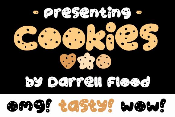 Download Cookies font (typeface)