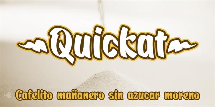 Quickat шрифт скачать бесплатно