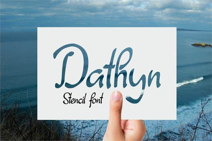 Download Dathyn font (typeface)