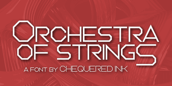Download Orchestra of Strings font (typeface)