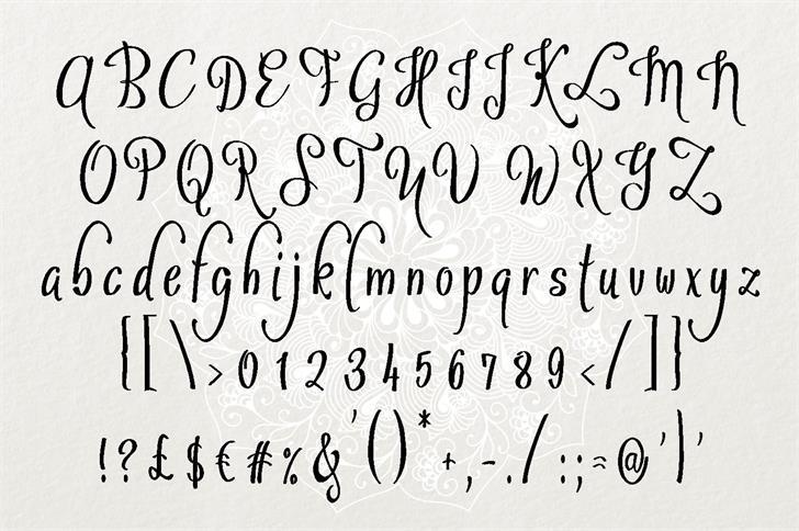 Sybelia шрифт скачать бесплатно