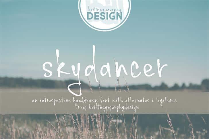 Download Skydancer font (typeface)