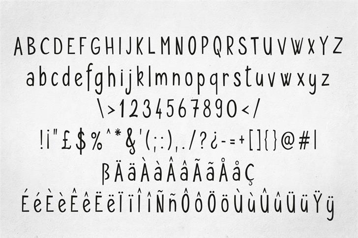 Seryfan шрифт скачать бесплатно