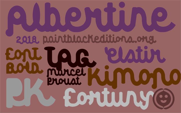 Download Albertine font (typeface)