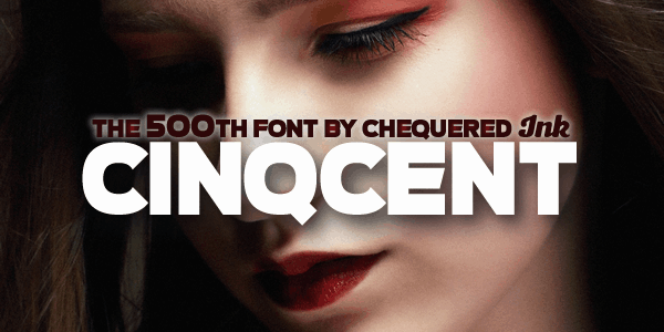Download Cinqcent font (typeface)