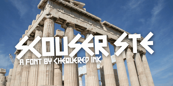 Download Scouser Ste font (typeface)