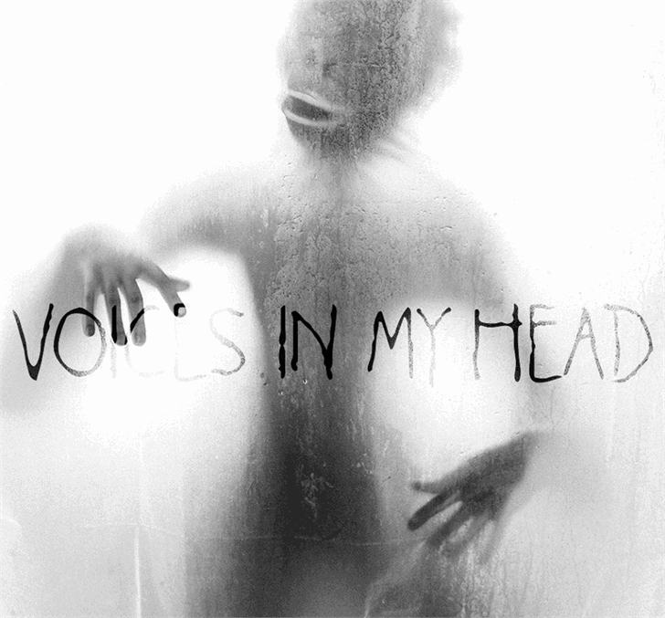 Download Voices in my Head font (typeface)