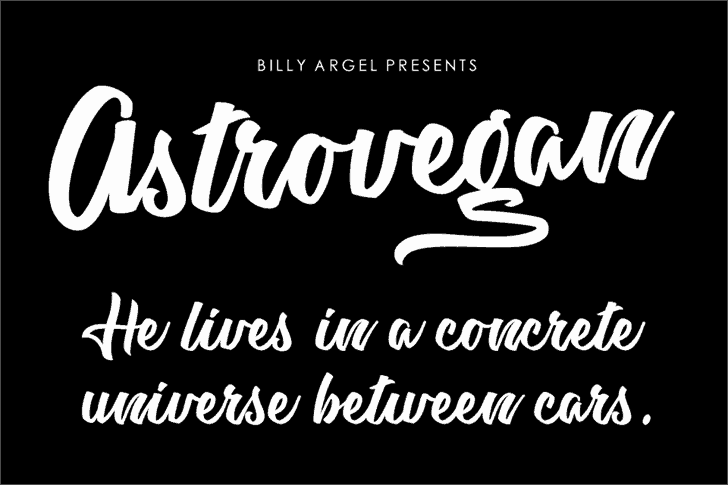 Download Astrovegan font (typeface)