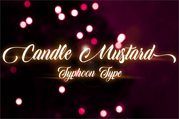 Download Candle Mustard font (typeface)