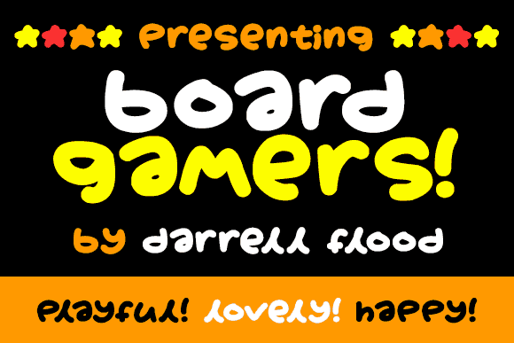 Download Board gamers font (typeface)