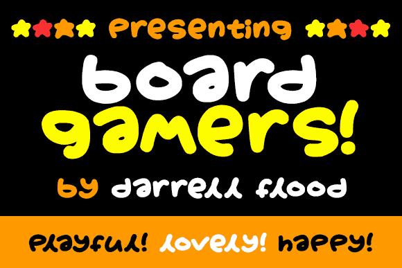 Boardgamers шрифт скачать бесплатно