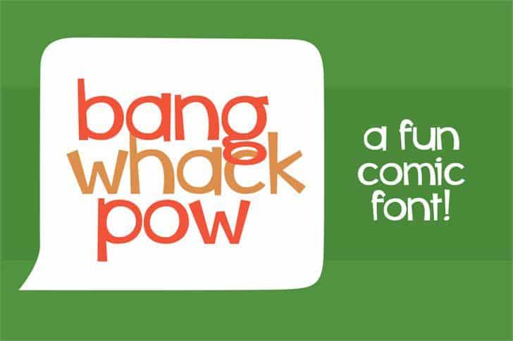 Download Whiz bang font (typeface)