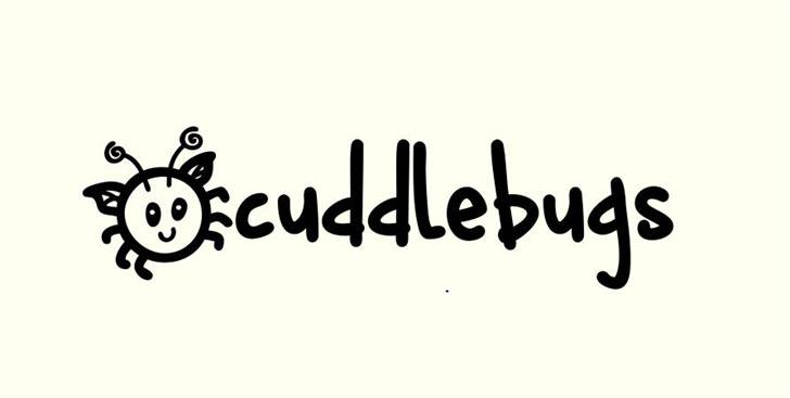 Download Cuddlebugs font (typeface)